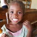 happy Haiti girl