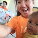 Jesus Medical's staff with Haiti children