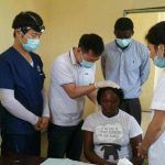 Jesus Medical's staff treat Haiti people