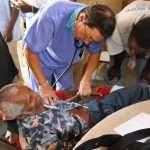 Jesus Medical's staff treat Haiti people