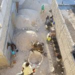 Haiti people working hard