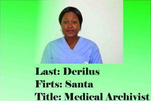 Jesus Medical's Medical Archivist