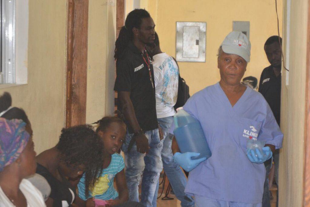 Jesus Medical's staff working hard